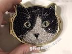 愛猫ちゃんの写真をデコレーションミラーに!