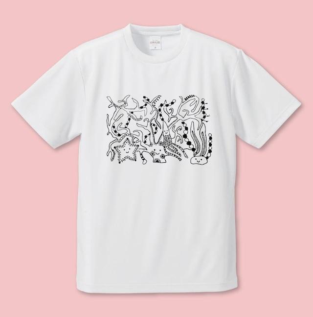 まなっぴっぴ うみのおともだちのおうち Tシャツ
