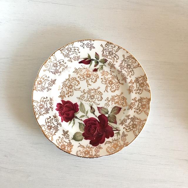 Antique プレート/バラ