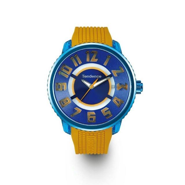 【Tendence テンデンス】TY532012 FLASH Streetフラッシュストリート(イエロー)/国内正規品 腕時計