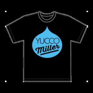 「YUCCO MILLER」Tシャツ(ブラック)