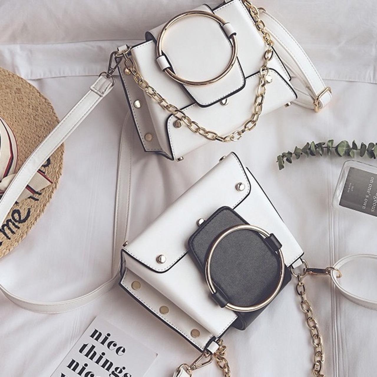 【即納】ring chain bag