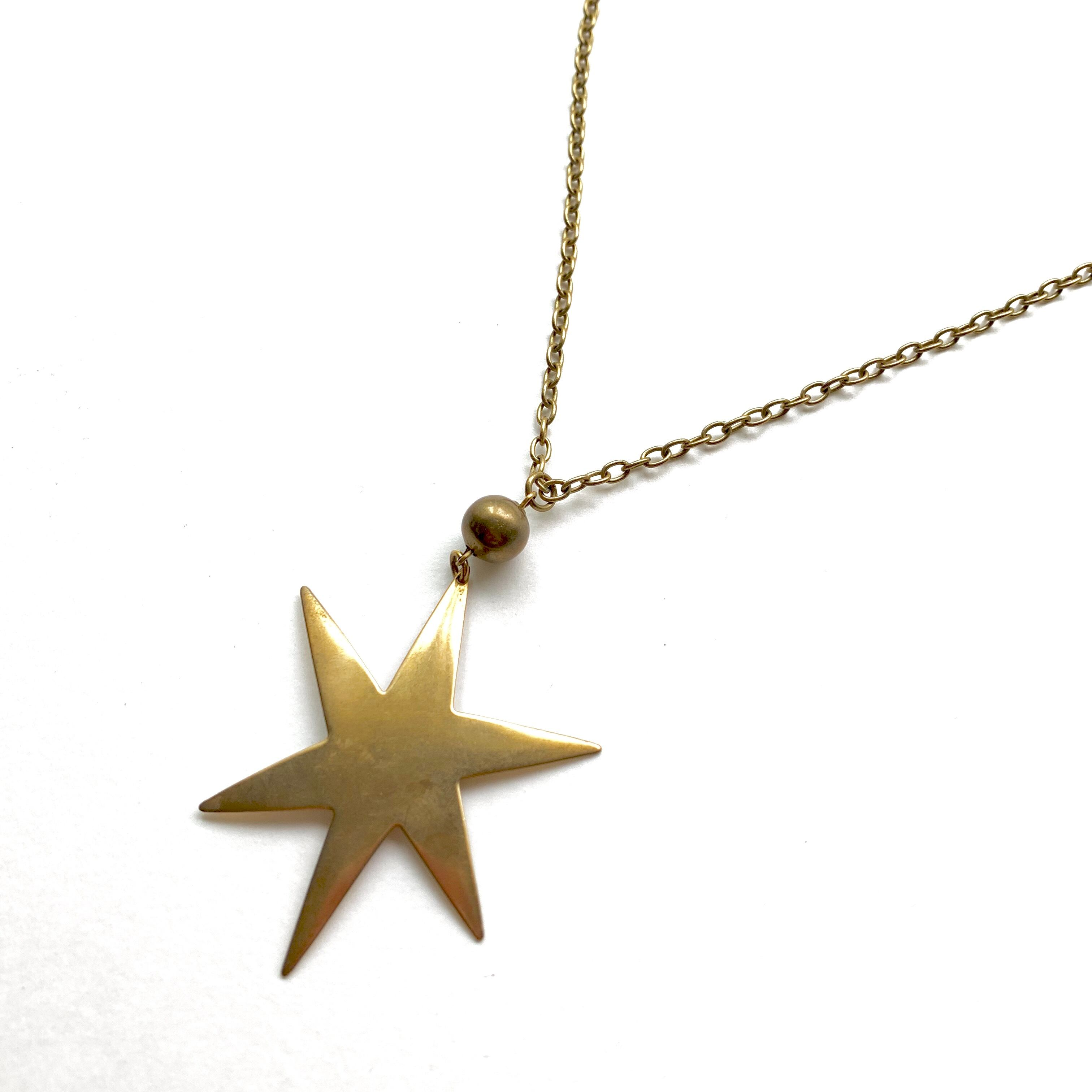 Sparkling star necklace NC-003
