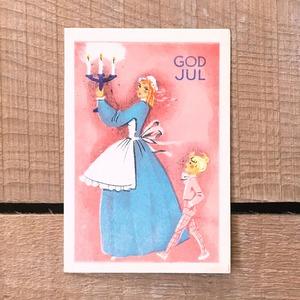 ミニ・クリスマスカード「作者不明」《200324-02》