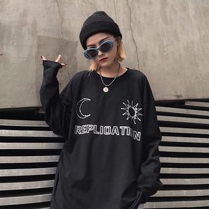 【トップス】プリント長袖ストリート系Tシャツ43011460