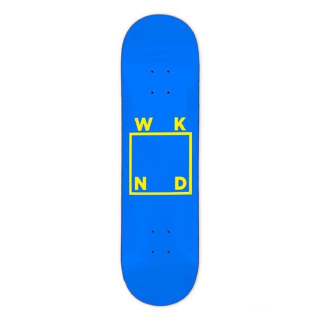 WKND SKATEBOARDS TEAM BLUE/YELLOW 8.25