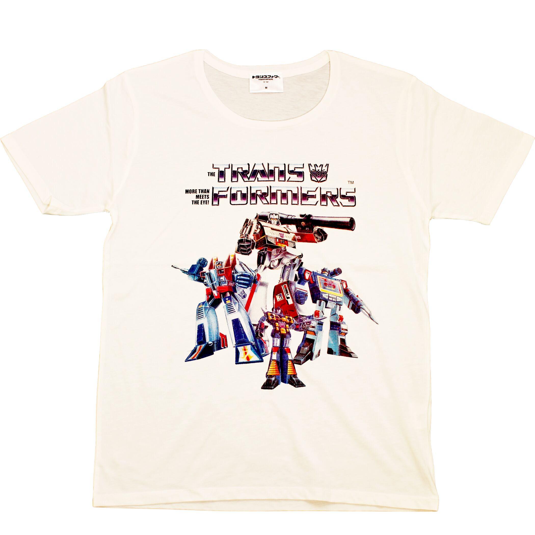 【トランスフォーマー】戦え!超ロボット生命体トランスフォーマー|チームデストロン80'S Tシャツ