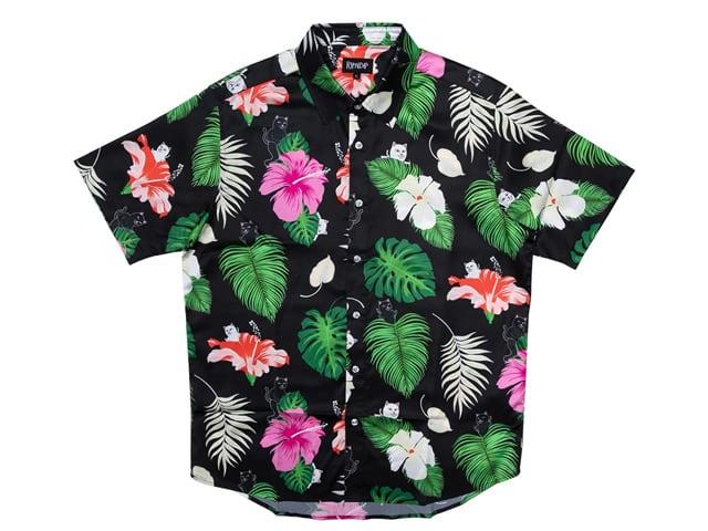 RIPNDIP Maui Nerm Button Up (Black)