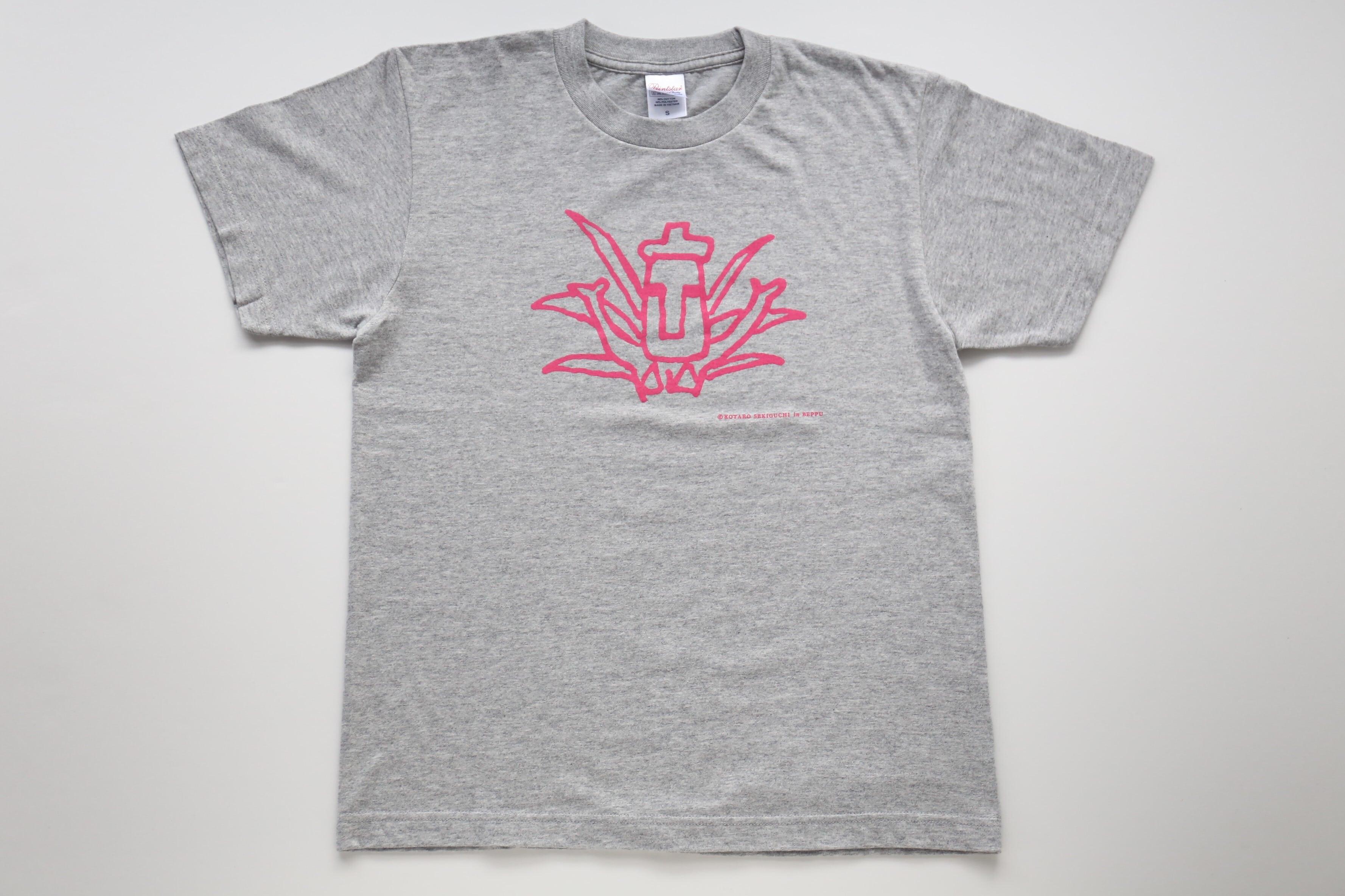 Tシャツ【関口光太郎 in BEPPU】(南アメリカ・モアイ)