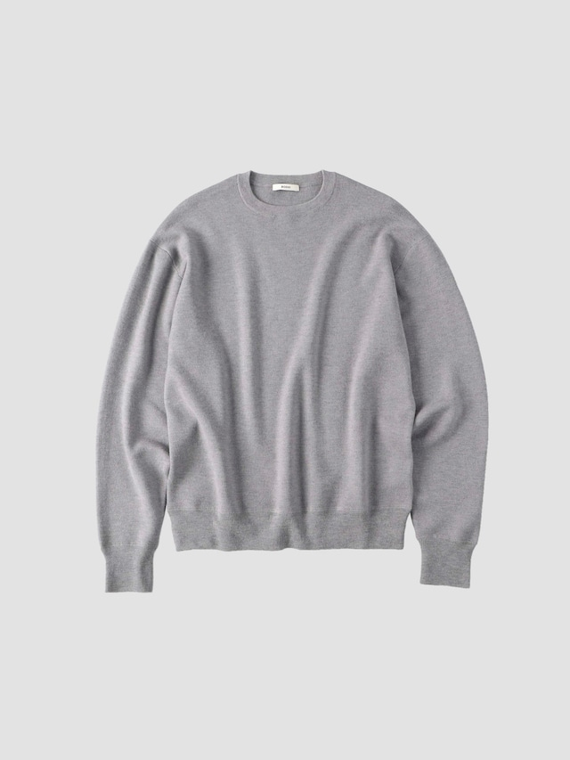 BODHI MIDDLE WEIGHT CASHMERE KNIT Gray BD13004