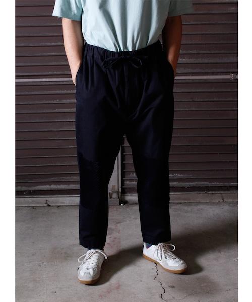 Cotton Knee Change Pants -navy <LSD-BJ3P8>