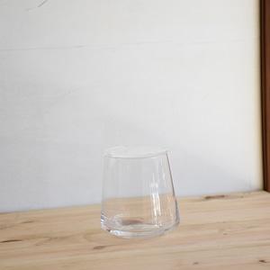 【ガラス容器】台形ポット・S ふた付き(70xh90mm)◆適度な通気で丈夫に育つ