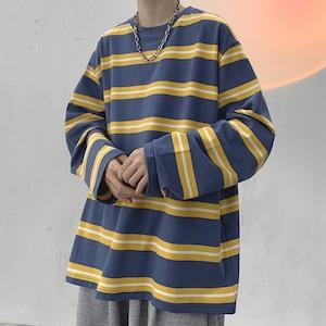 ボーダールーズロングTシャツ BL9271