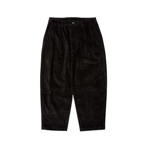EVISEN BOHEMIAN CORD PANTS BLACK