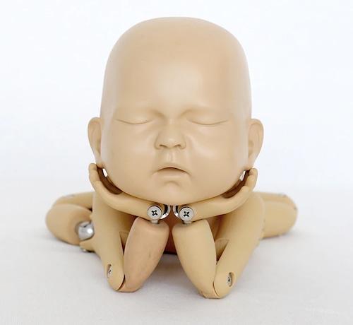 <再販>トレーニング用新生児人形50cm(専用ケース付き)