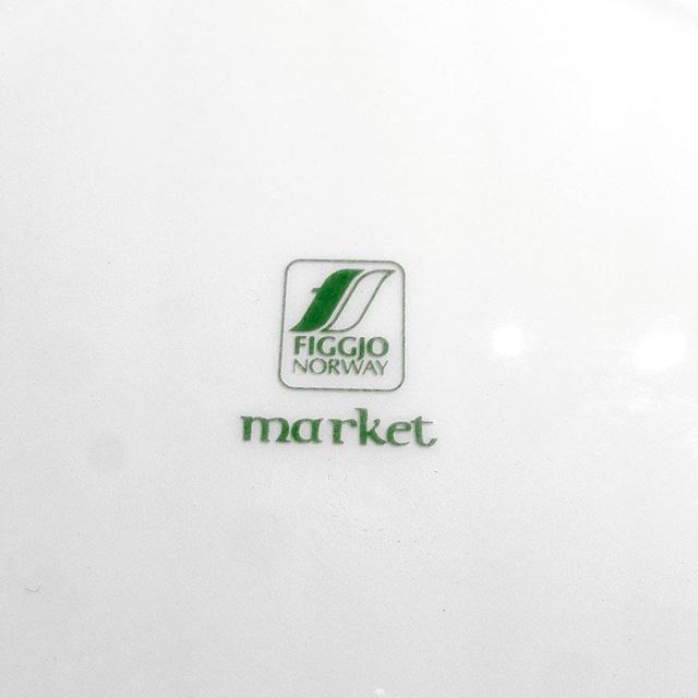 FIGGJO フィッギオ Market マルケット 240mm皿 北欧ヴィンテージ