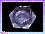 水晶 六芒星(hexagram) 直径53mm×厚み20mm