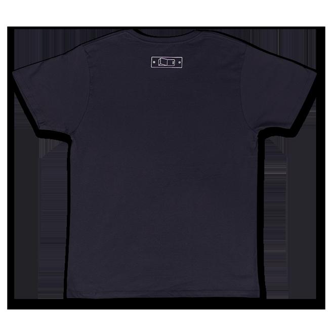 sasakure.UK 「ココロ♥ポッカリ」Tシャツ(メンズ/ネイビー) - 画像2