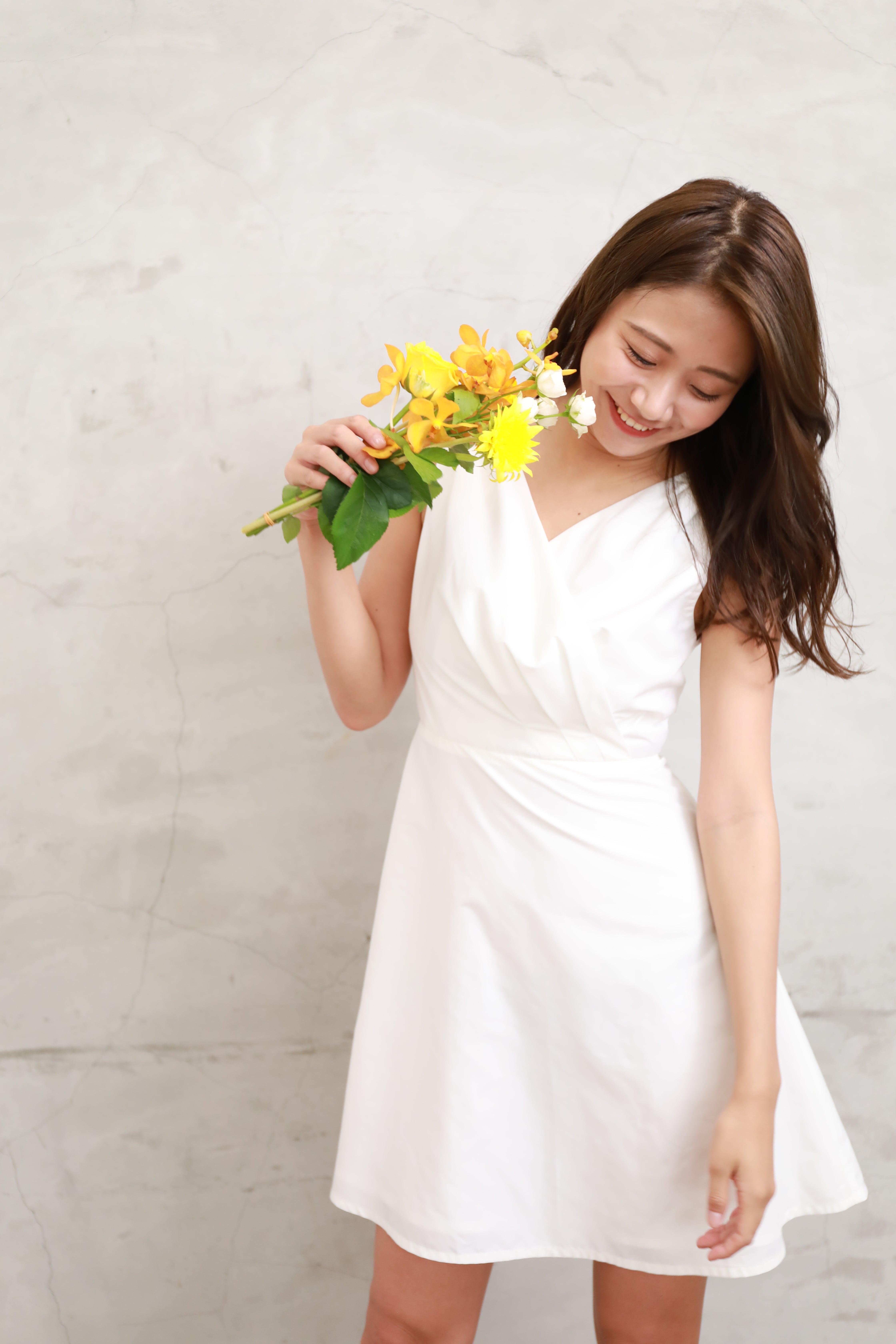 cache-coeur sleeveless dress