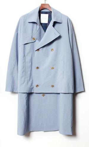 Layered Over Coat  -blue  <LSD-BA1C1>