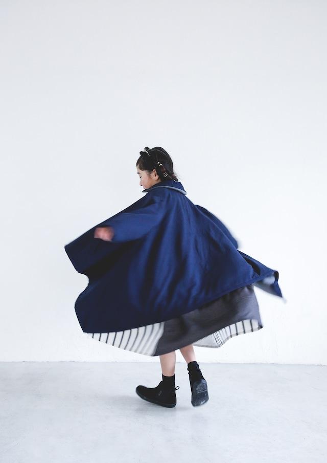 【21AW】ミチリコ(michirico) sway coat navy【S・M】コート
