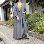 【hippiness × Sakurako.】cupro folkdress(moss tree)/ 【ヒッピネス × サクラコ.】キュプラ フォークドレス(苔僕)