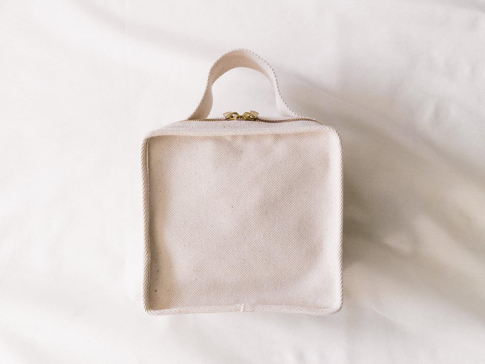 Canvas 7inch Record Bag