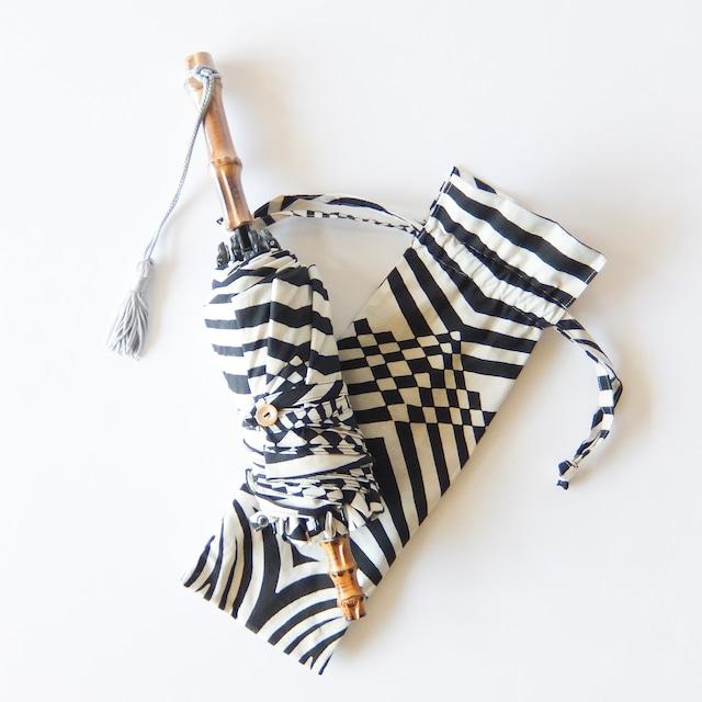 傳 tutaee - ツタエノヒガサ うさぎのたすき - 折り畳み日傘 - テクノ