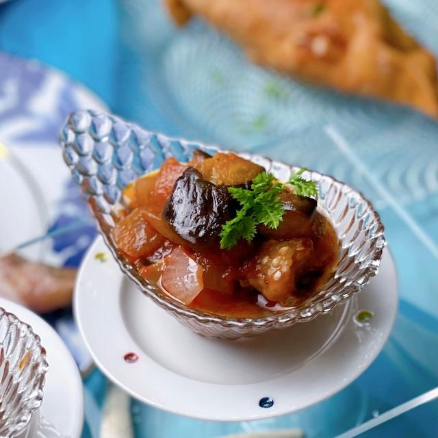 茄子のトマト煮込み(カポナータ)