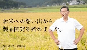 春日屋『3日寝かせ発芽玄米ごはん+GABA』14食セット