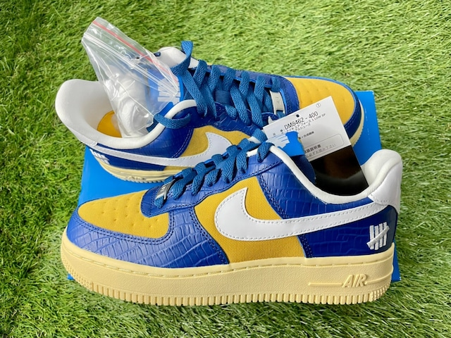 NIKE × UNDEFEATED AIR FORCE 1 LOW SP BLUE YELLOW 23.5㎝ DM8462-400 30077