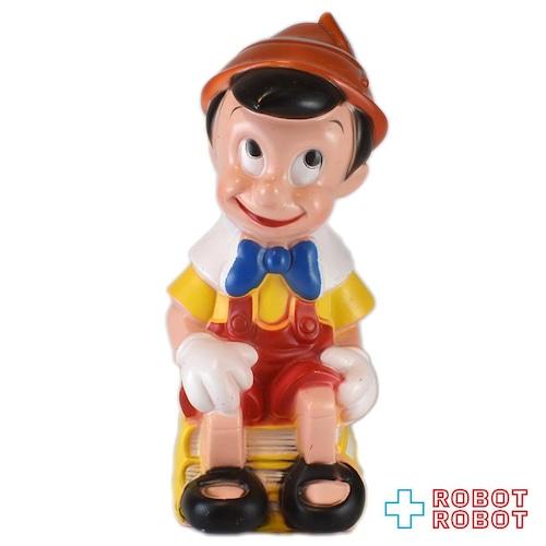 プレイパル社 ピノキオ ソフビ貯金箱 バンク フィギュア