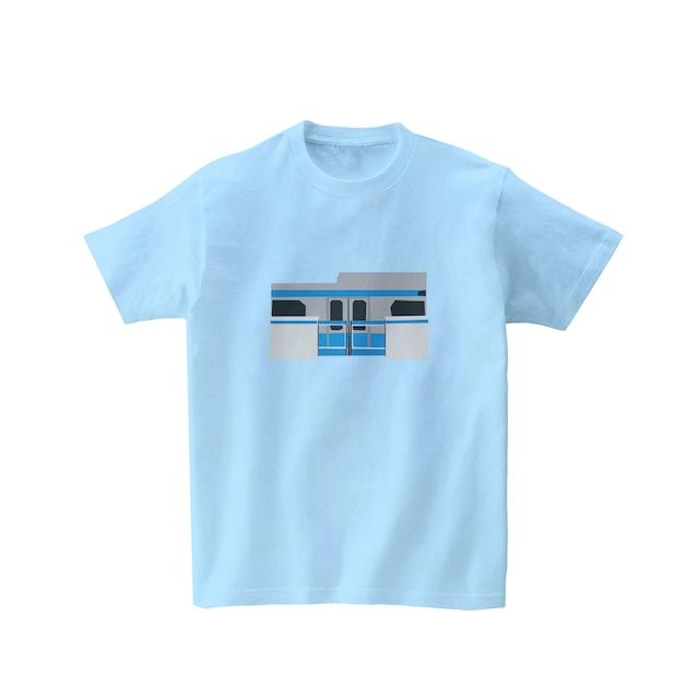 電車Tシャツ-ホームドア