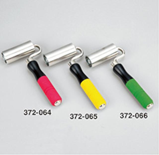 372065ステンシームローラーライトゴムグリップ 黄