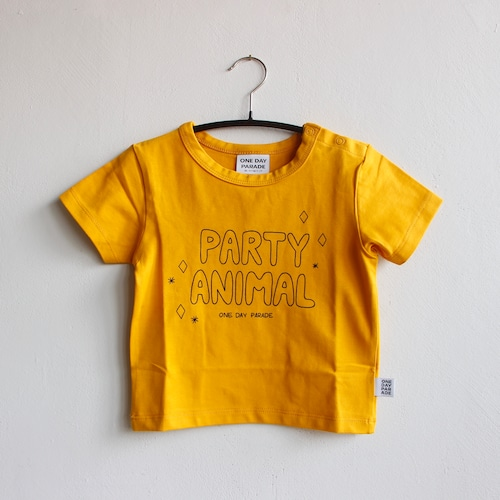 《ONE DAY PARADE 2021SS》T-SHIRT / PARTY ANIMAL
