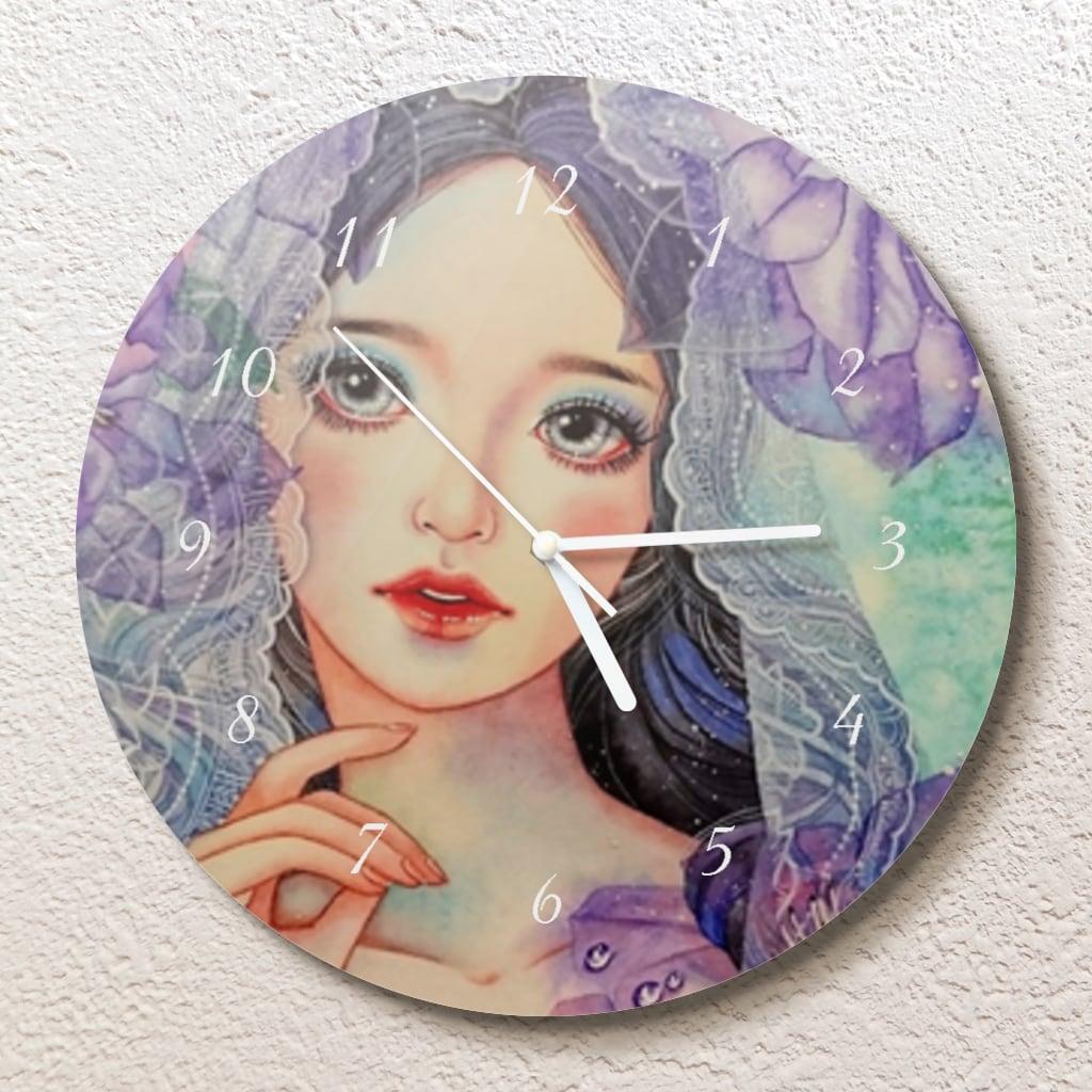 明日を待つ壁掛け時計(L)