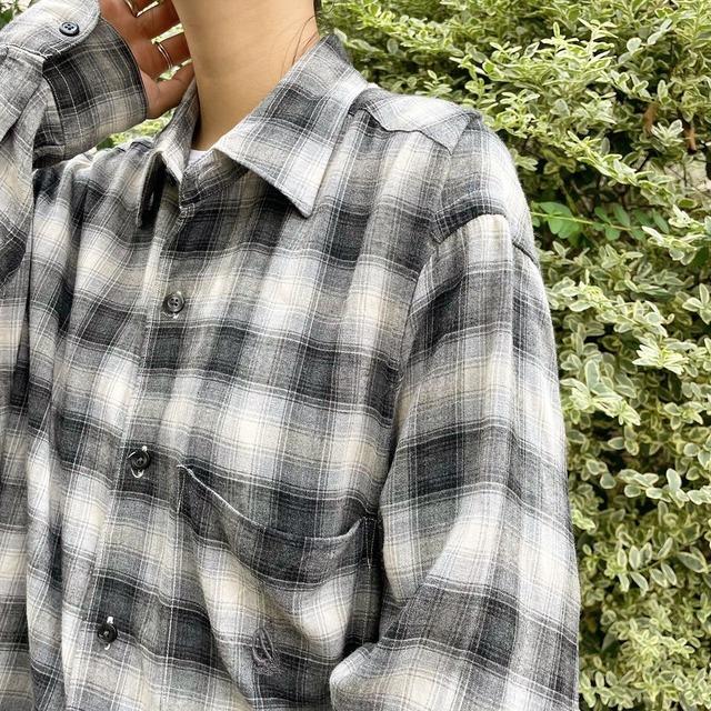 "USED "" ls shirt / ロングスリーブシャツ """