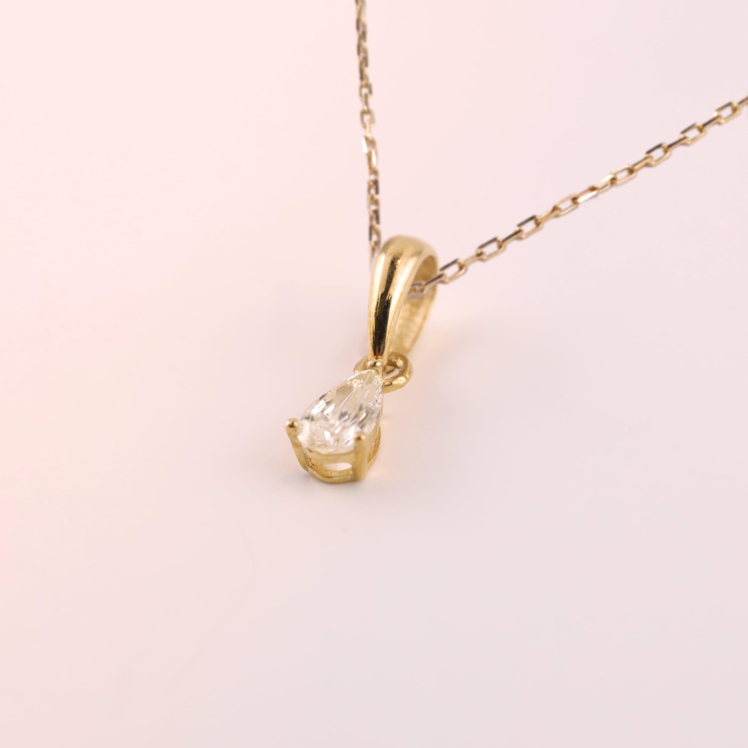 Diamond Pendant -Drop