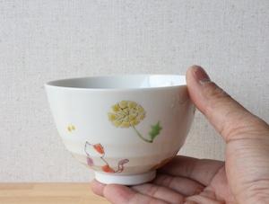 三毛猫みーちゃん(春) 小丼(工房直売価格)