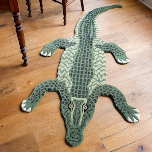 Coolio Crocodile Rug Large