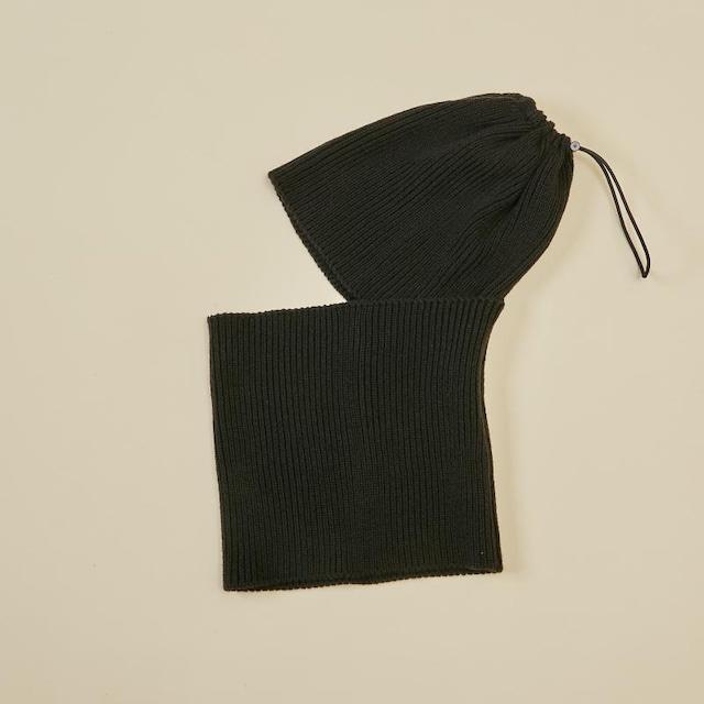 MOUN TEN. balaclava charcoal [21W-MA42-1051] MOUNTEN.