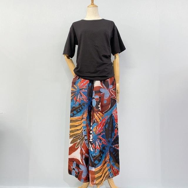 tシャツ+ワイドパンツ セット商品〈set006〉