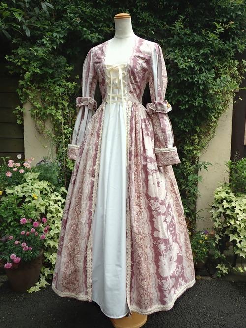 コットンバロックドレス