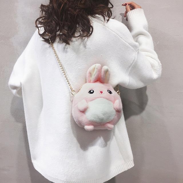 【小物】instagram人気ウサギかわいいキュートバック37029624