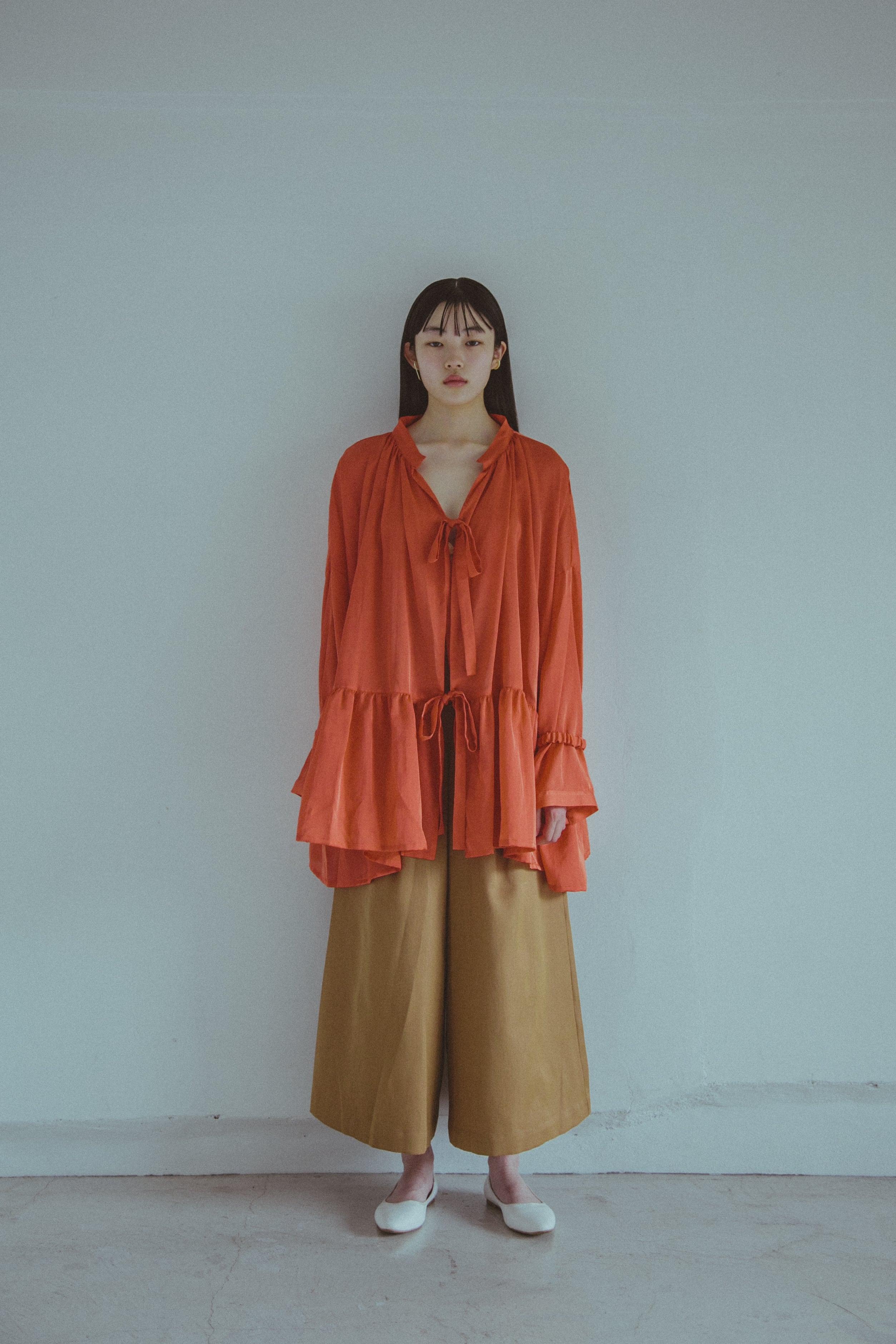 【受注】YUKI SHIMANE Stay Lazy Cotton mix shirt