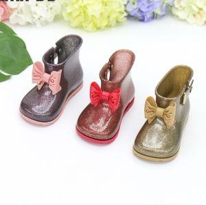 7859雨靴 キッズ  子供 子ども  ジュニア 長靴   女児 女の子 レインブーツ レインシューズ ショートブーツ13cm-18.5cm