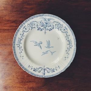 """Gien """"Marie-Antoinette"""" dinner plate ②"""