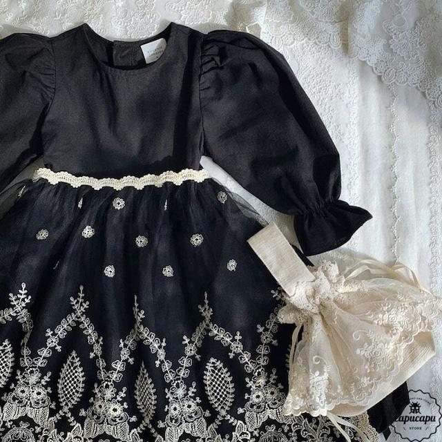 «即納/予約» One Day for The Celebration Dress anna black アンナバルーン ワンピース
