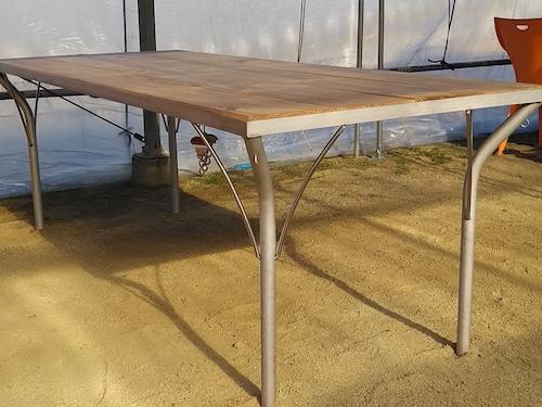ステンレスDFJオリジナルテーブル(横800×縦2000×高さ700)
