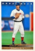 MLBカード 93UPPERDECK Zane Smith #349 PIRATES